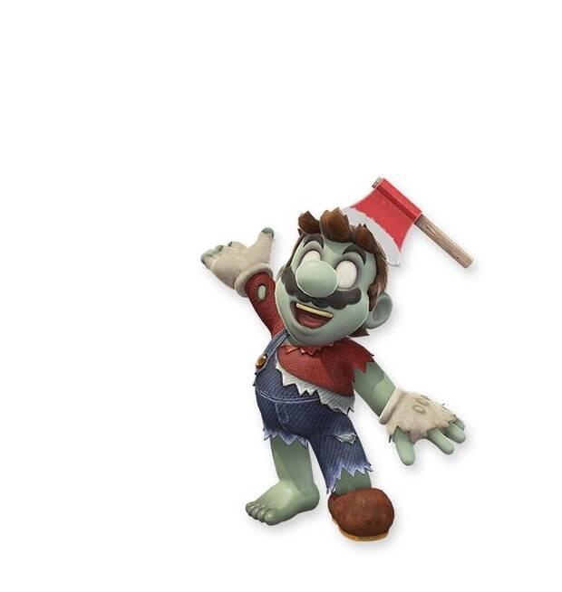 Filtrados más posibles trajes para Mario en Super Mario Odyssey Imagen 2