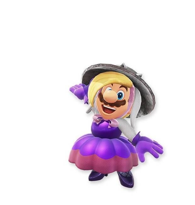 Filtrados más posibles trajes para Mario en Super Mario Odyssey Imagen 3
