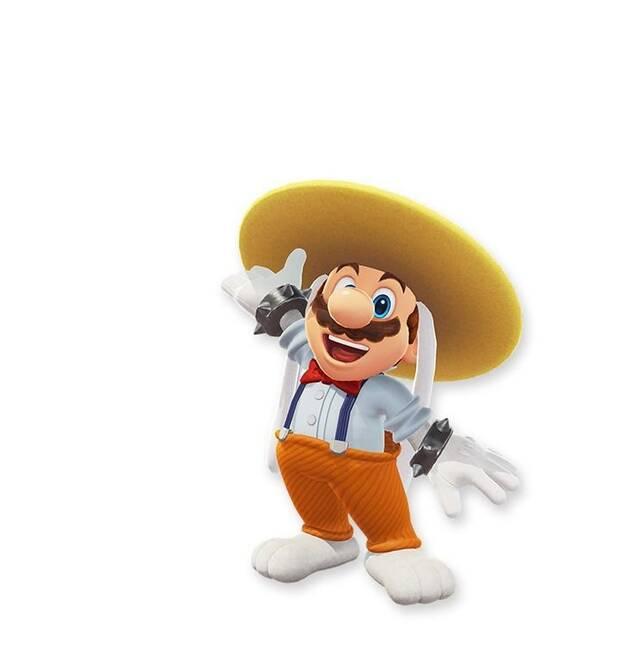Filtrados más posibles trajes para Mario en Super Mario Odyssey Imagen 6