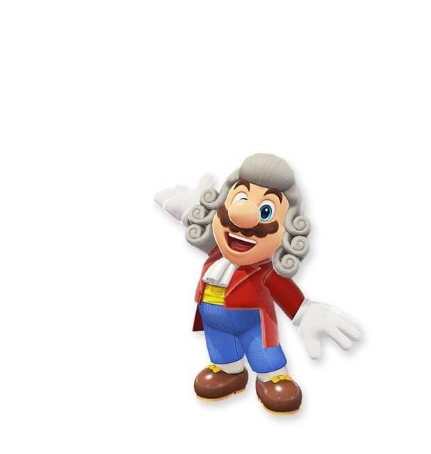 Filtrados más posibles trajes para Mario en Super Mario Odyssey Imagen 8