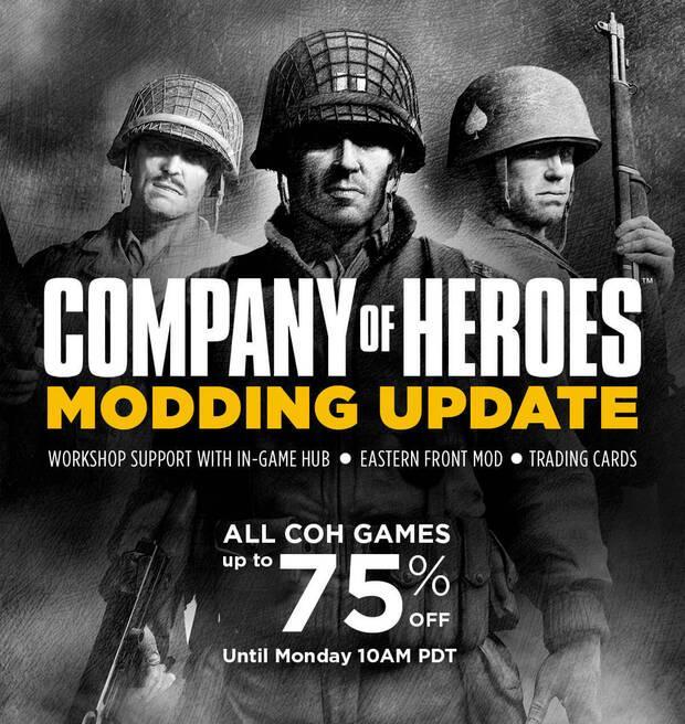 Company of Heroes celebra su 10º aniversario con una actualización Imagen 2