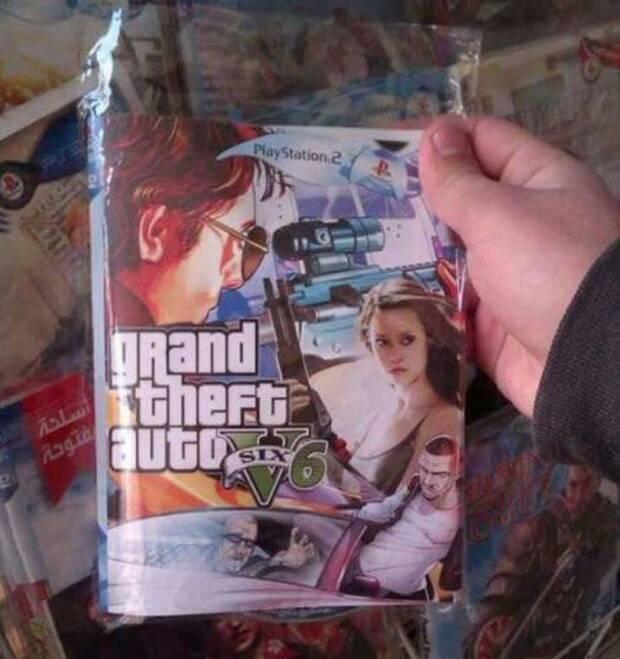 El surrealista GTA 6 con terminators lanzado en Brasil para PS2 Imagen 2