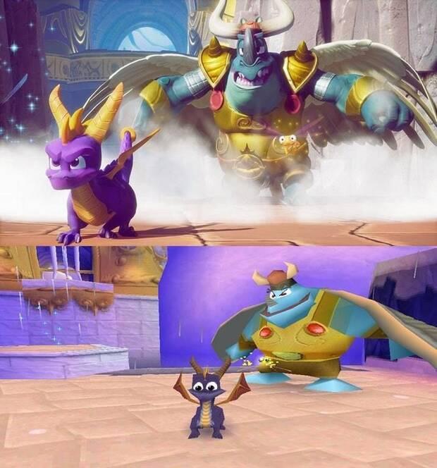Primeras imágenes de Spyro 3 en Spyro Reignited Trilogy Imagen 2