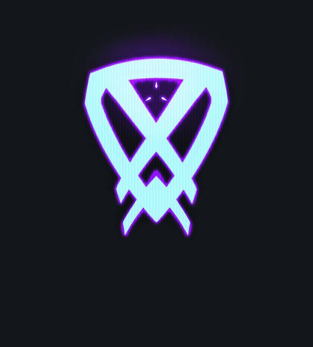Logo of the new Valorant character.