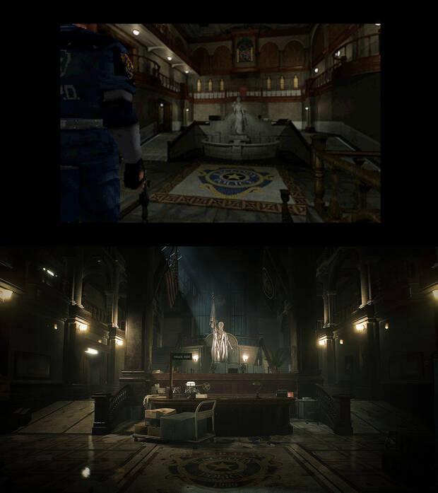 E3 2018: Comparan Resident Evil 2 remake con el original 20 años después Imagen 2