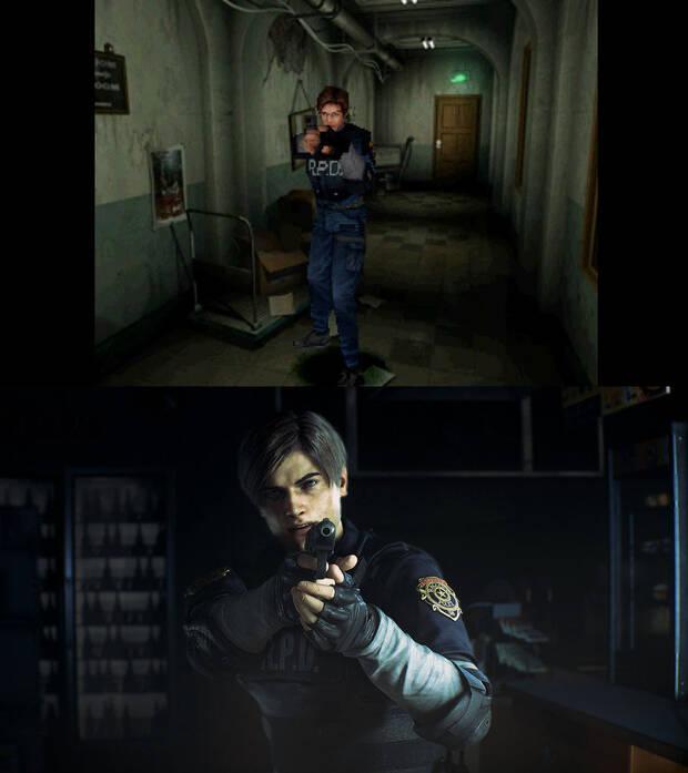 E3 2018: Comparan Resident Evil 2 remake con el original 20 años después Imagen 4