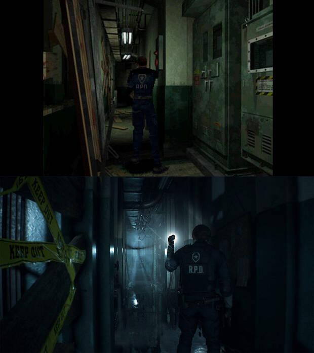 E3 2018: Comparan Resident Evil 2 remake con el original 20 años después Imagen 5
