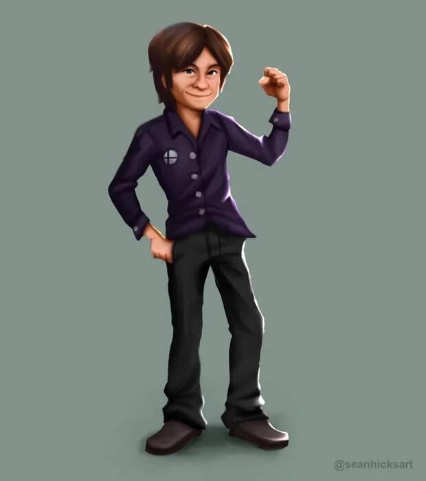 Masahiro Sakurai, creador de Super Smash Bros., cuenta con su propio amiibo Imagen 2