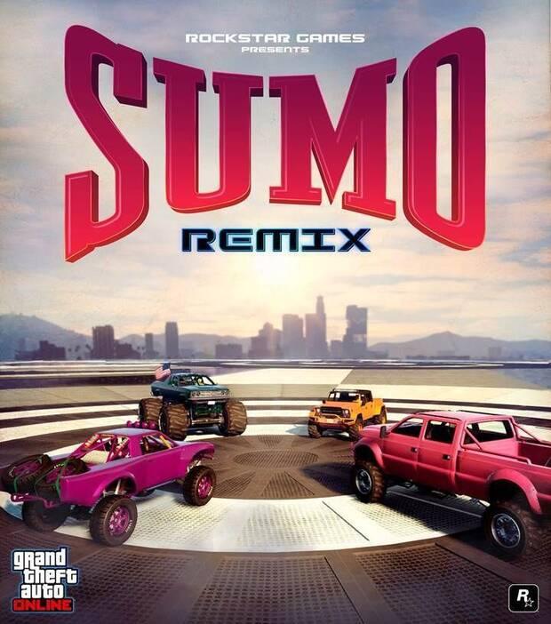 Empieza el modo Sumo (Remix) en Grand Theft Auto Online Imagen 2