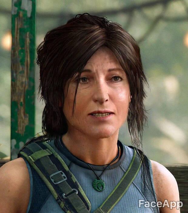 Así envejecen los personajes de videojuegos con FaceApp Imagen 14