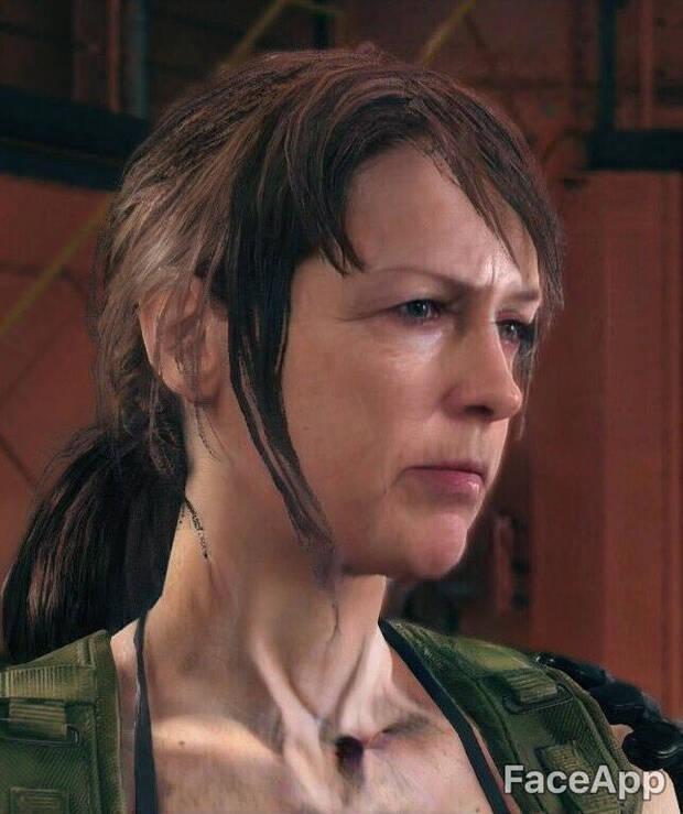 Así envejecen los personajes de videojuegos con FaceApp Imagen 20