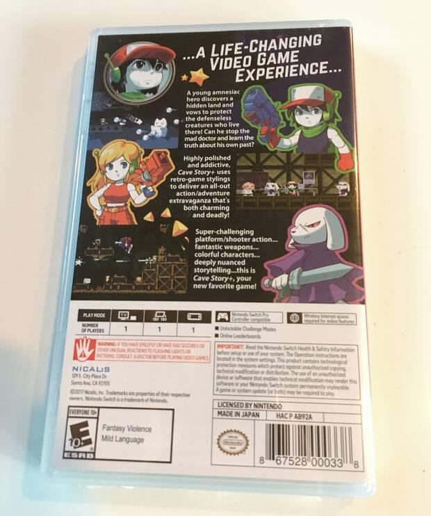 Así es la edición física de Cave Story+ para Nintendo Switch Imagen 3
