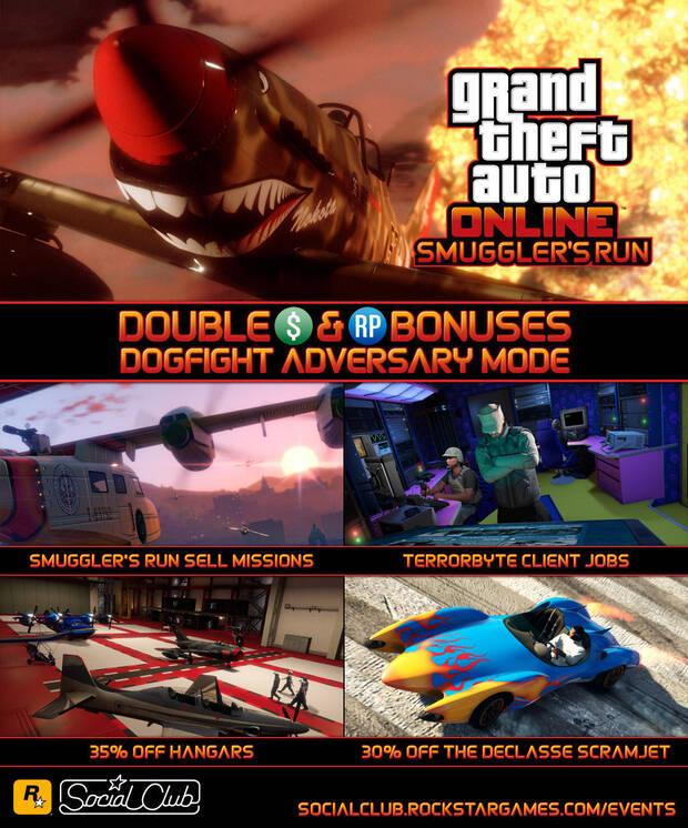 GTA Online: Actualización con el doble de dinero y reputación en misiones y descuentos Imagen 2