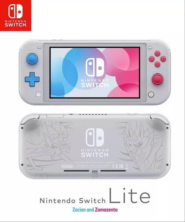 Nintendo Switch Lite muestra su edición especial limitada de Pokémon Espada y Escudo Imagen 2