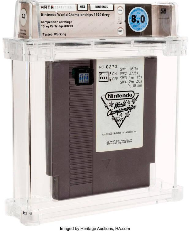 A Nintendo World Championships cartridge can