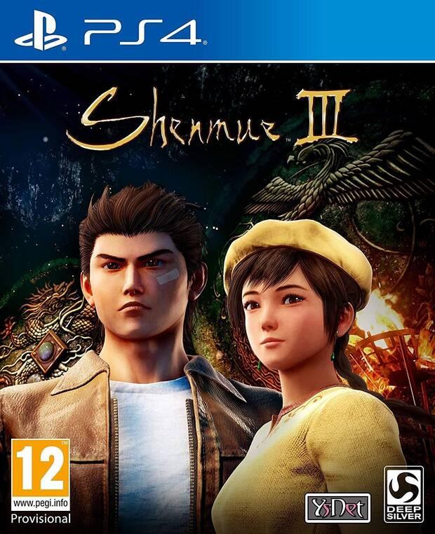 Así será la portada de Shenmue III Imagen 2