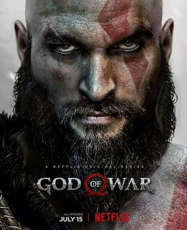 Un Póster Falso Presentaba A Jason Momoa Como Kratos De