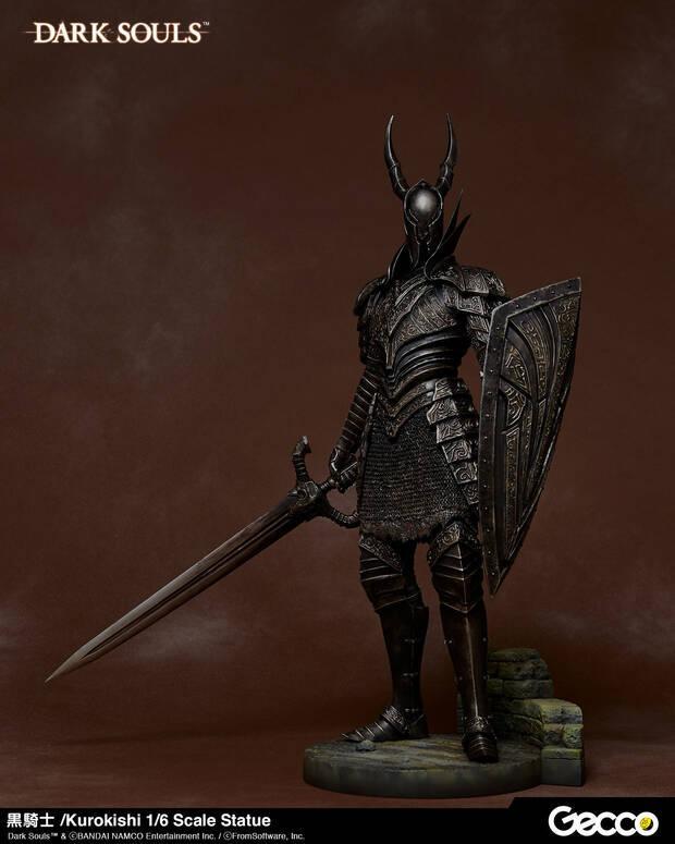 Así es la impresionante figura del Caballero Negro de Dark Souls Imagen 2