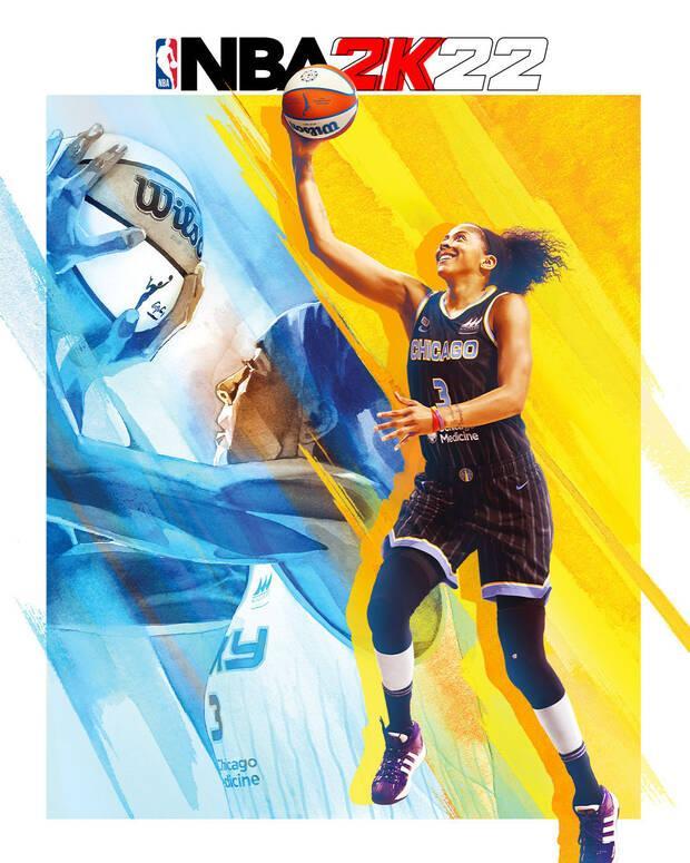 NBA 2K22 Candance Parker