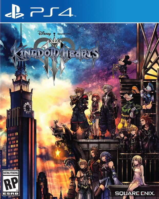 Nuevo tráiler e imágenes de Kingdom Hearts III; Así es su portada Imagen 2