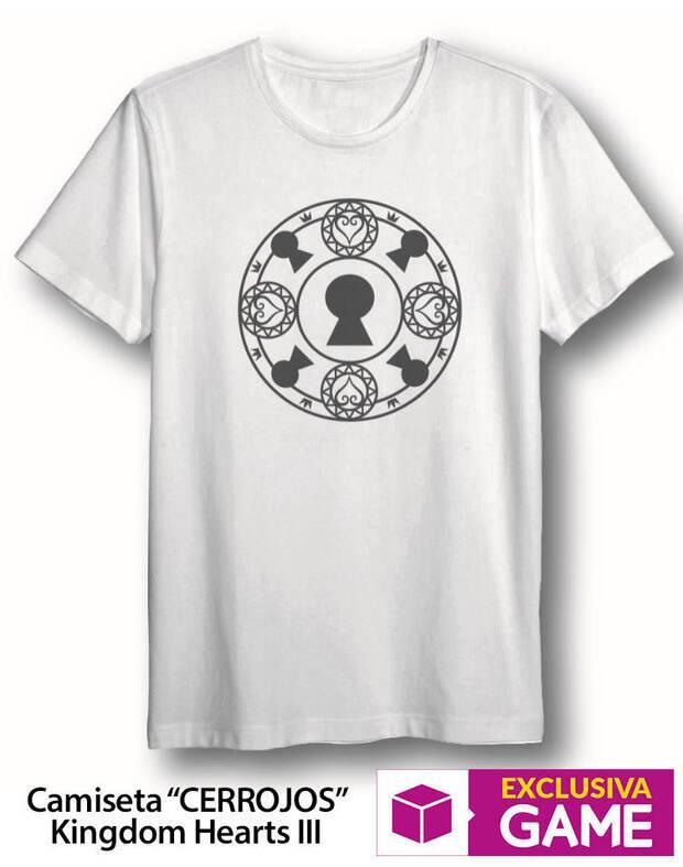 GAME muestra su nueva camiseta exclusiva de Kingdom Hearts III Imagen 2