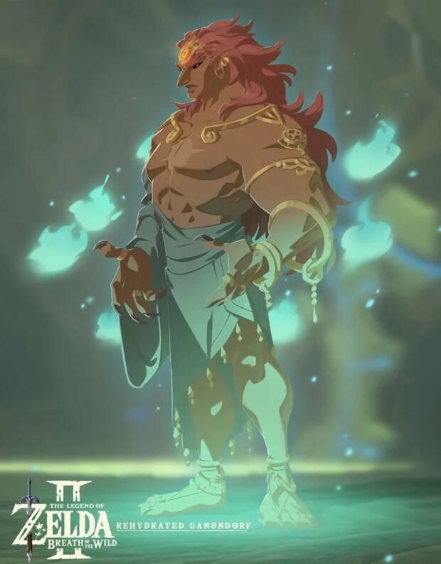 Imaginan el aspecto normal de Ganon en Zelda: Breath of the Wild Imagen 3