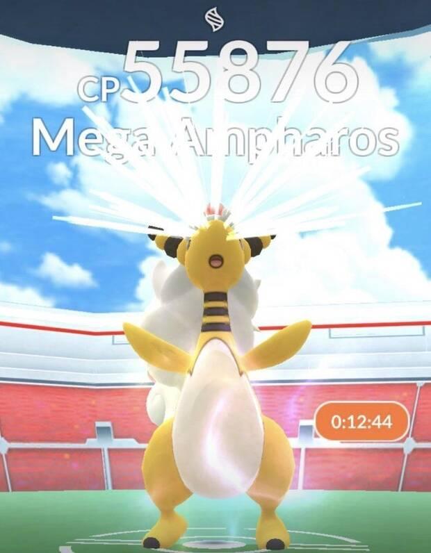 Mega Ampharos fait ses débuts dans Pok