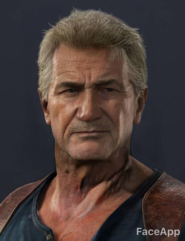 Así envejecen los personajes de videojuegos con FaceApp Imagen 3