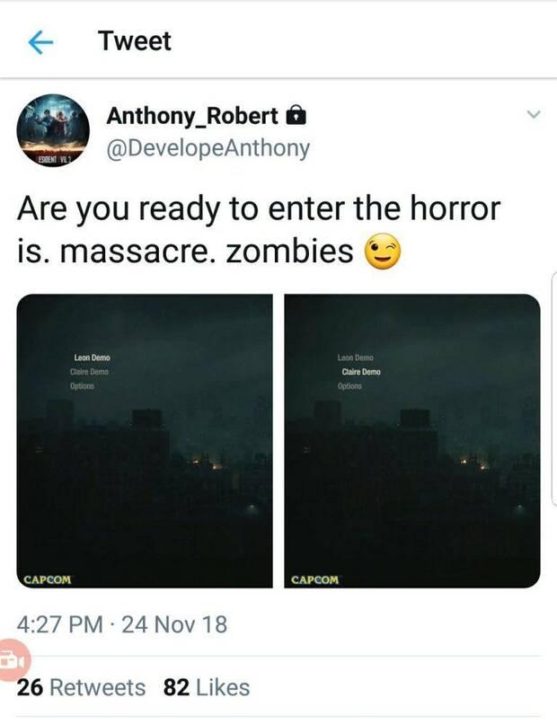Rumor: Resident Evil 2 Remake podría tener una demo en diciembre Imagen 2