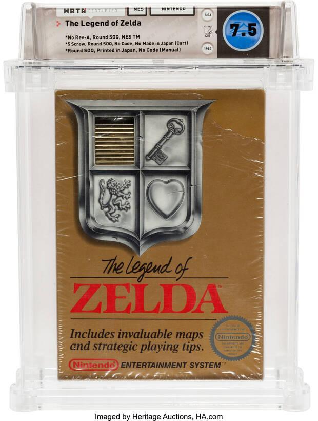 The Legend of Zelda NES TM