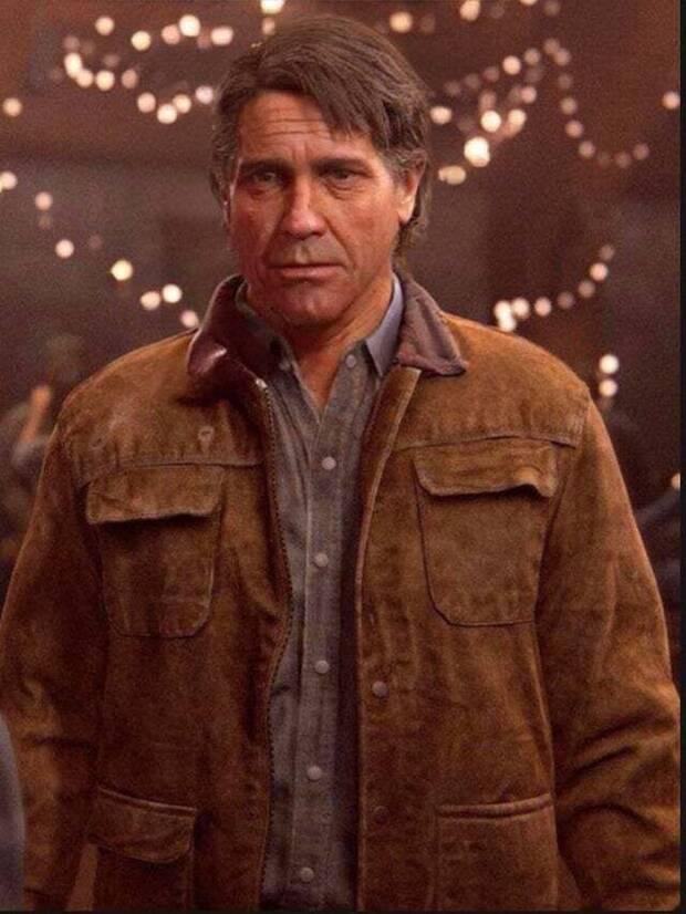 Joel, de The Last of Us 2, sin barba.