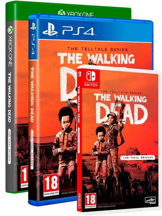 The Walking Dead: The Final Season también llegará en físico a Switch Imagen 2