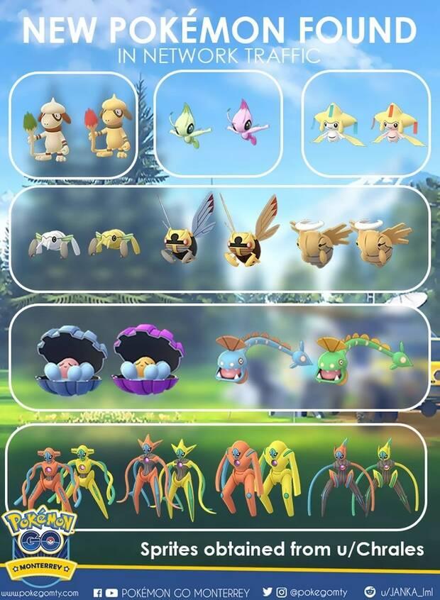 Encuentran indicios de nuevos Pokémon en el código de Pokémon GO Imagen 2