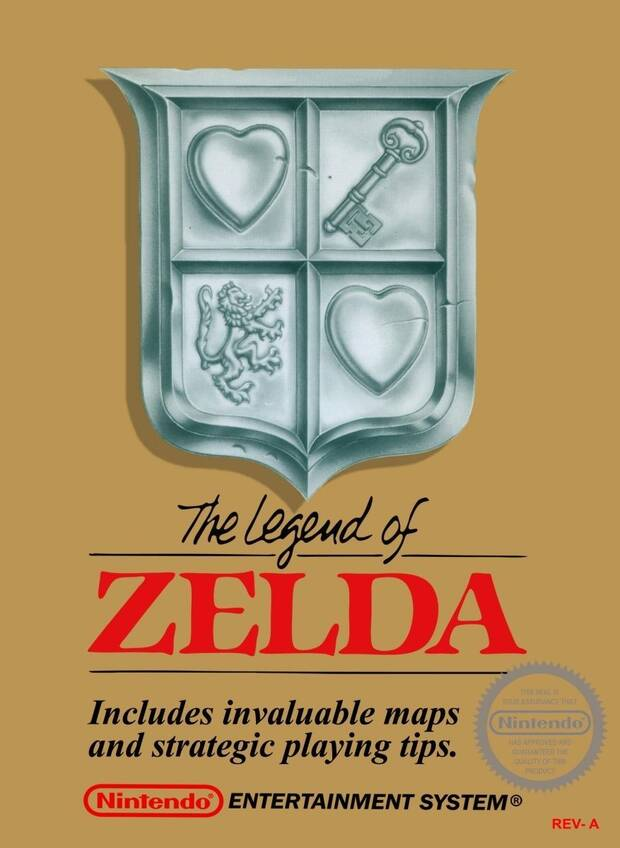 The Legend of Zelda Rev-A NES