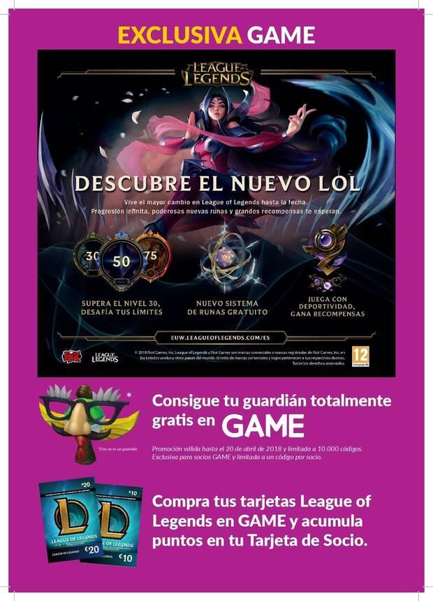 GAME ofrece un guardián exclusivo gratuito para League of Legends Imagen 2