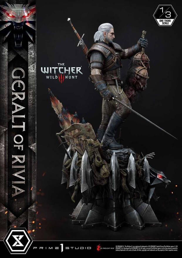 The Witcher figura Deluxe 1500 d