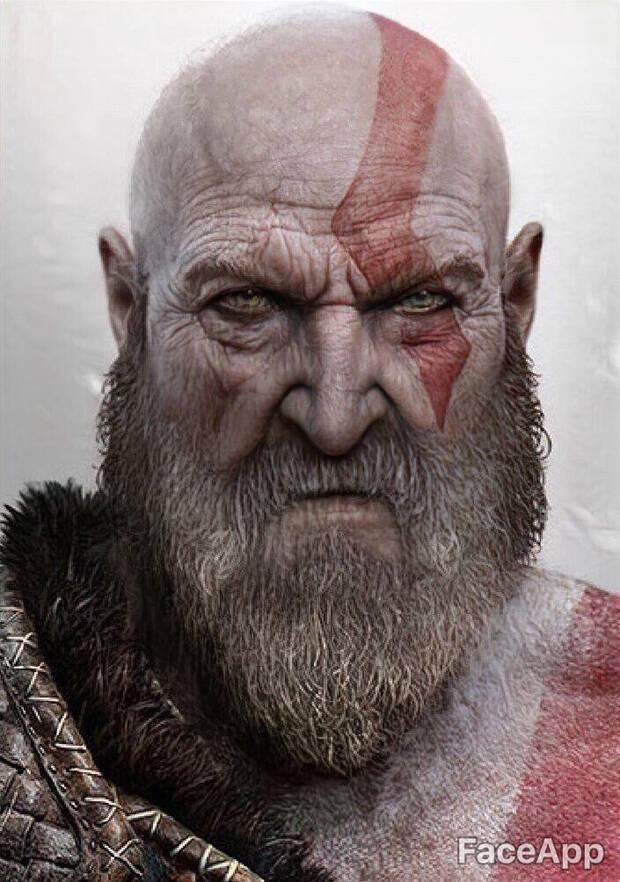 Así envejecen los personajes de videojuegos con FaceApp Imagen 11