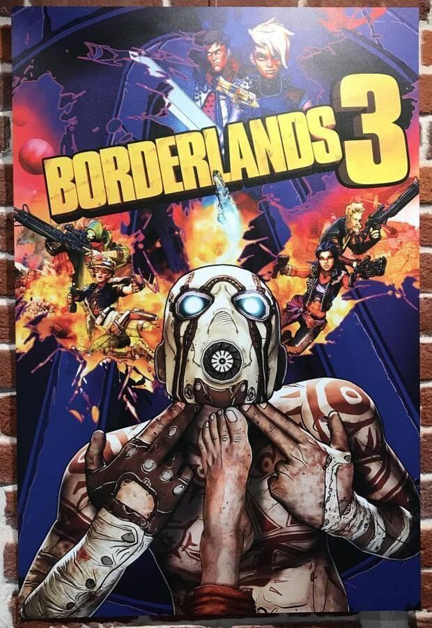 Gearbox revela las portadas que se descartaron de Borderlands 3 Imagen 2