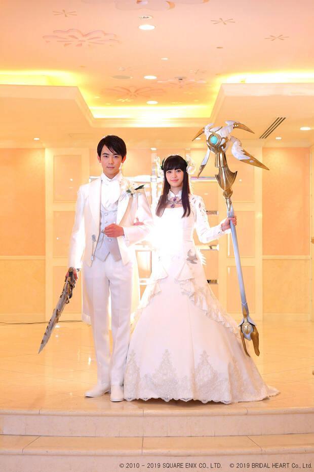 Mi gran boda friki: Así se pueden casar los fans de Final Fantasy XIV en Japón Imagen 3