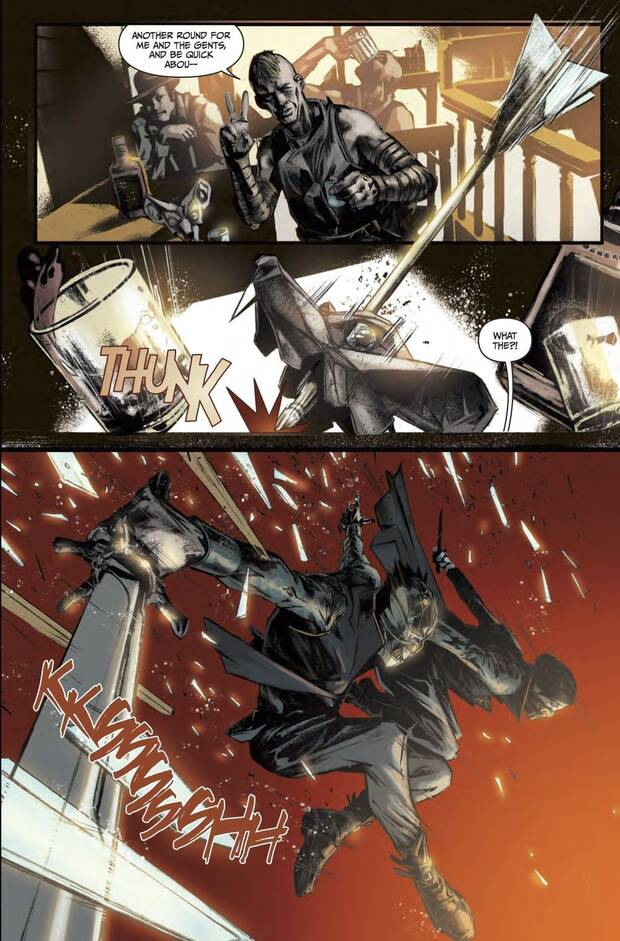 Titan Comics anuncia una novela gráfica basada en Dishonored 2 Imagen 2