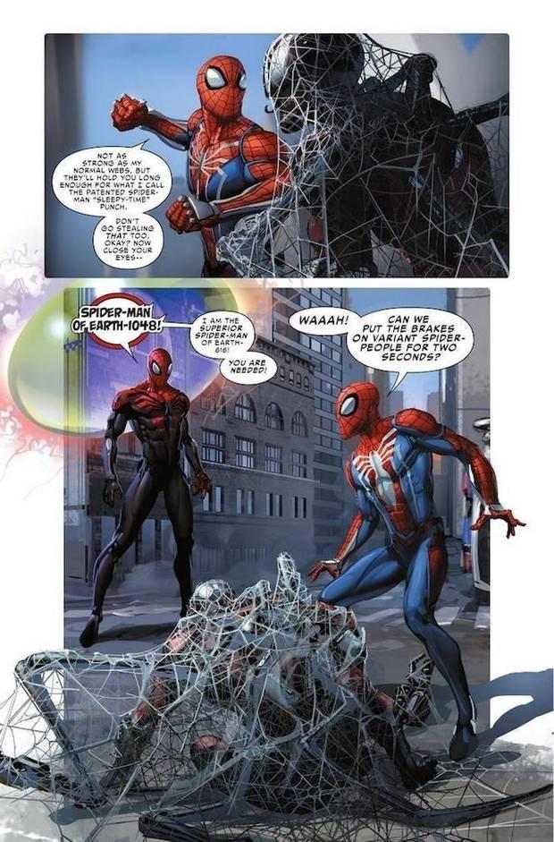 Spider-Man de Insomniac Games formará parte de 'Spider Geddon' Imagen 4