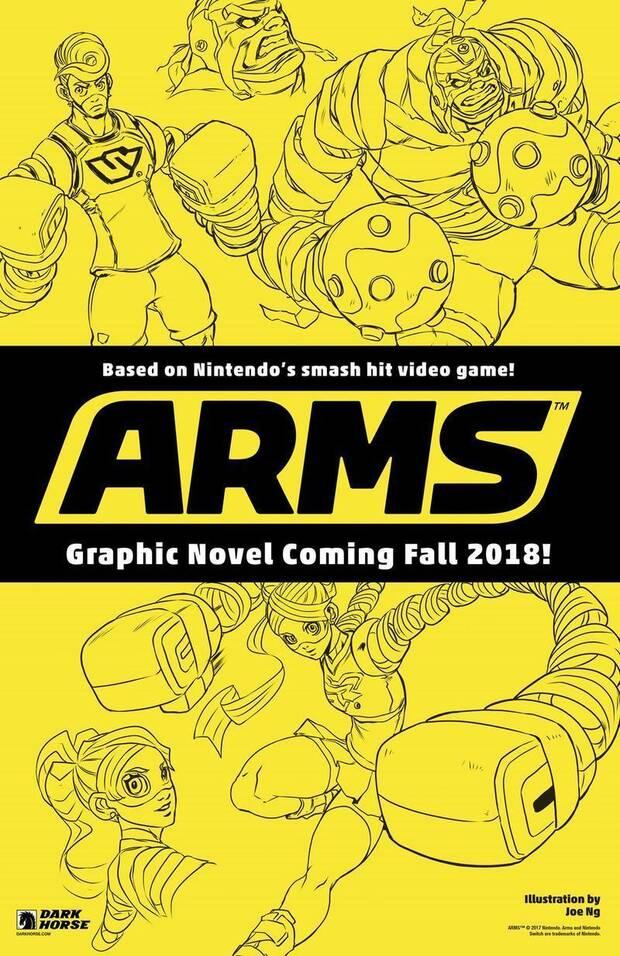 Dark Horse publicará el cómic oficial de ARMS Imagen 2
