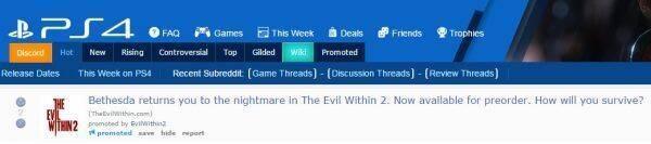 Un anuncio filtra The Evil Within 2 antes de la conferencia de Bethesda