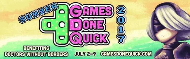 Comienza el evento benéfico Summer Games Done Quick 2017