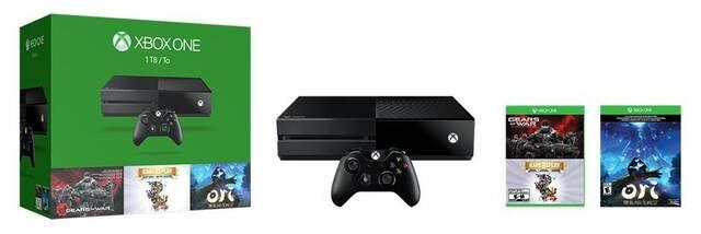 Anunciado un pack con Xbox One 1TB, Ori, Gears of War y Rare Replay