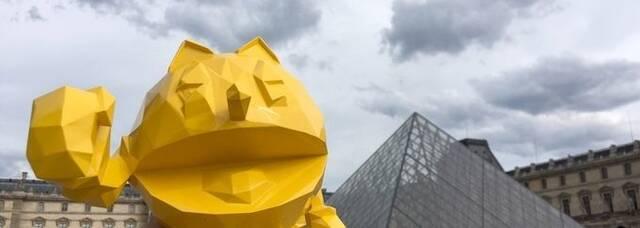 Pac-Man tendrá esculturas del diseñador Richard Orlinski