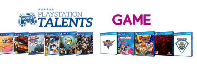 Sony y las tiendas GAME distribuirán en formato físico los títulos del programa PlayStation Talents