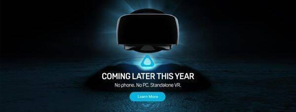HTC prepara un casco de realidad virtual que no necesita PC