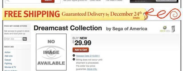 Sega prepara un recopilatorio de títulos de Dreamcast