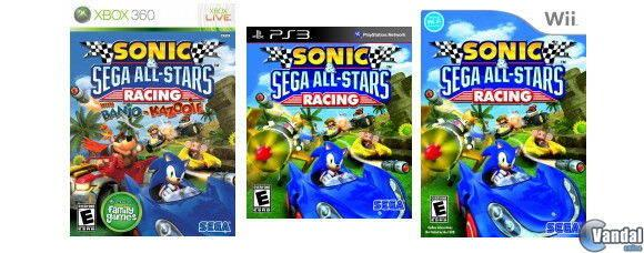 Banjo y Kazooie correrán junto a Sonic